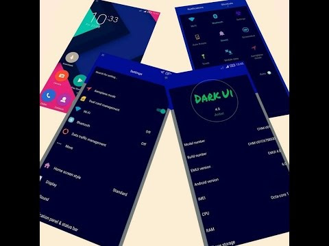 Latest Top 5 Dark EMUI 2017 Huawei Theme !! Dark EMUI Theme !!