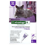 Advantage Ii 04461685 Topical Flea and Lice Treatment For Large Cats, 4-dose