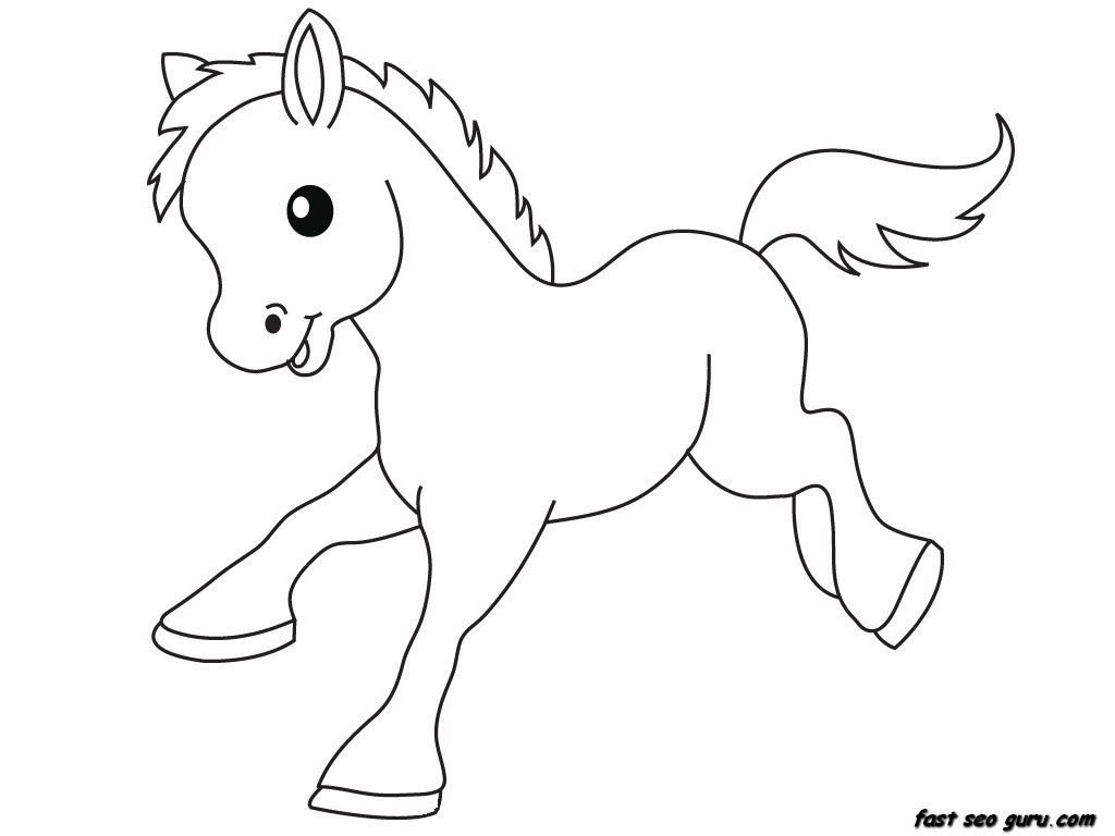 7600 Top Cartoon Animal Coloring Pages Printable Images & Pictures In HD