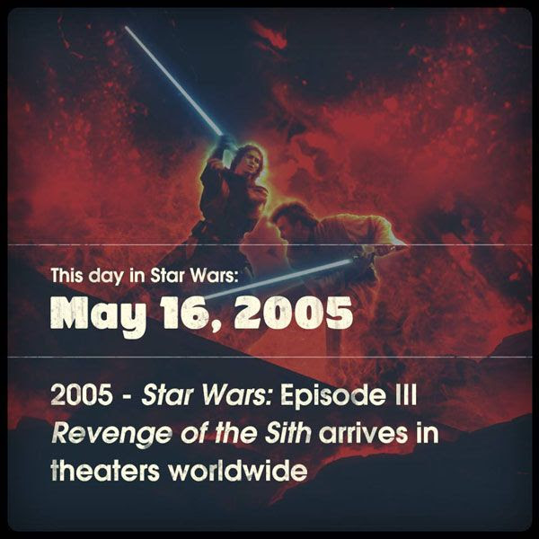 Remembering STAR WARS: EPISODE III - REVENGE OF THE SITH.
