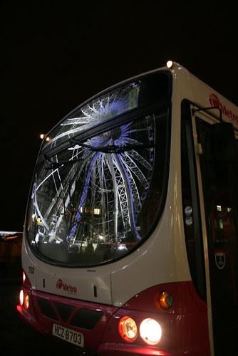 Metro Wheel Reflection