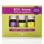 ECO. Modern Essentials - Calm & Destress Aroma Trio (Lavender, Lemon, Lemongrass)