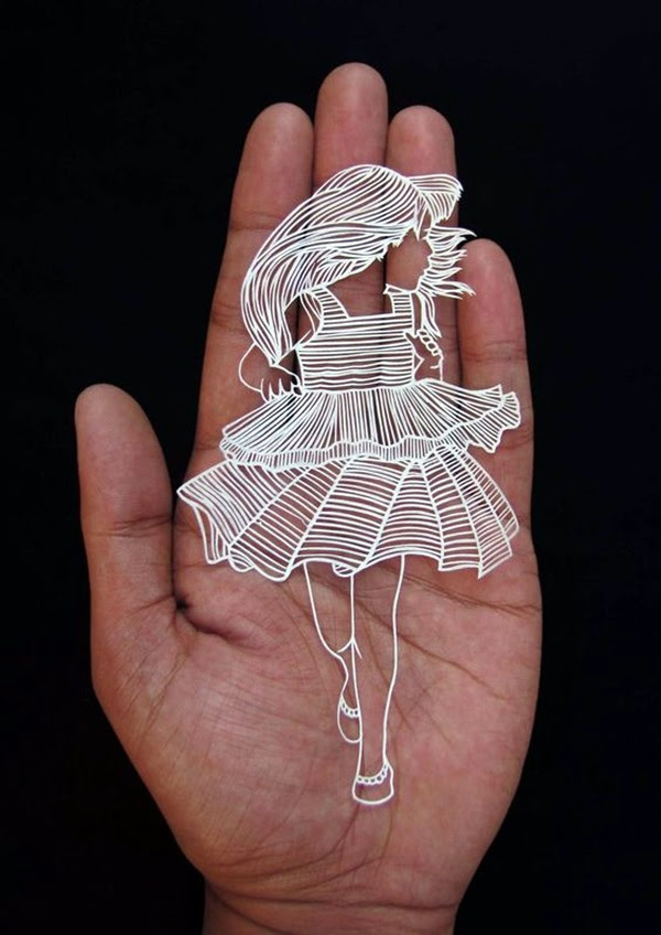 Extremely Creative Examples of Kirigami Art A Hobby to Addapt (5)