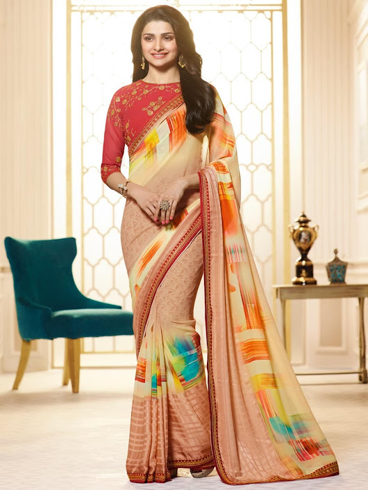 NITYANX » Vinay fashion starwalk latest designer Fancy casual wear sarees singles available at wholesale rates surat