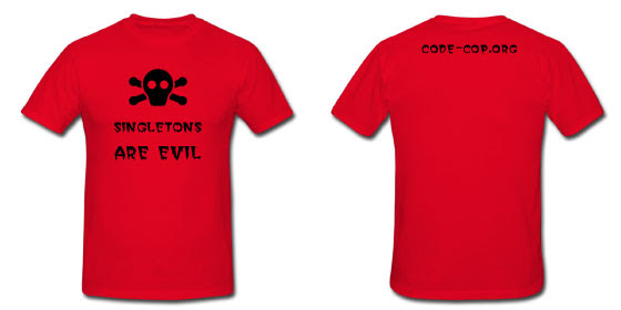 Singletons Are Evil T-shirt