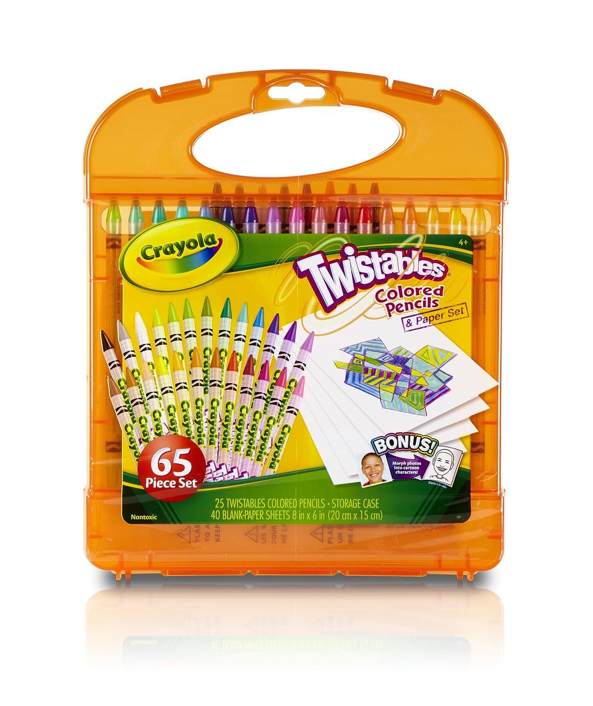 Crayola Twistables Colored Pencils Kit