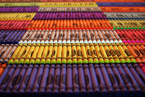 24 boxes of 24 crayons