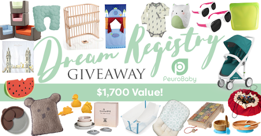 Dream Registry Giveaway for Moms by Peurobaby.com!