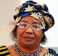 President Joyce Banda of Malawi. She was sworn in after the death of Bingu wa Mutharika who died on April 6, 2012. by Pan-African News Wire File Photos