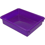 3 in. Stowaway Letter Tray Purple D2726740