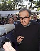 Sergio Marchionne, amministratore delegato di Fiat e Chrysler