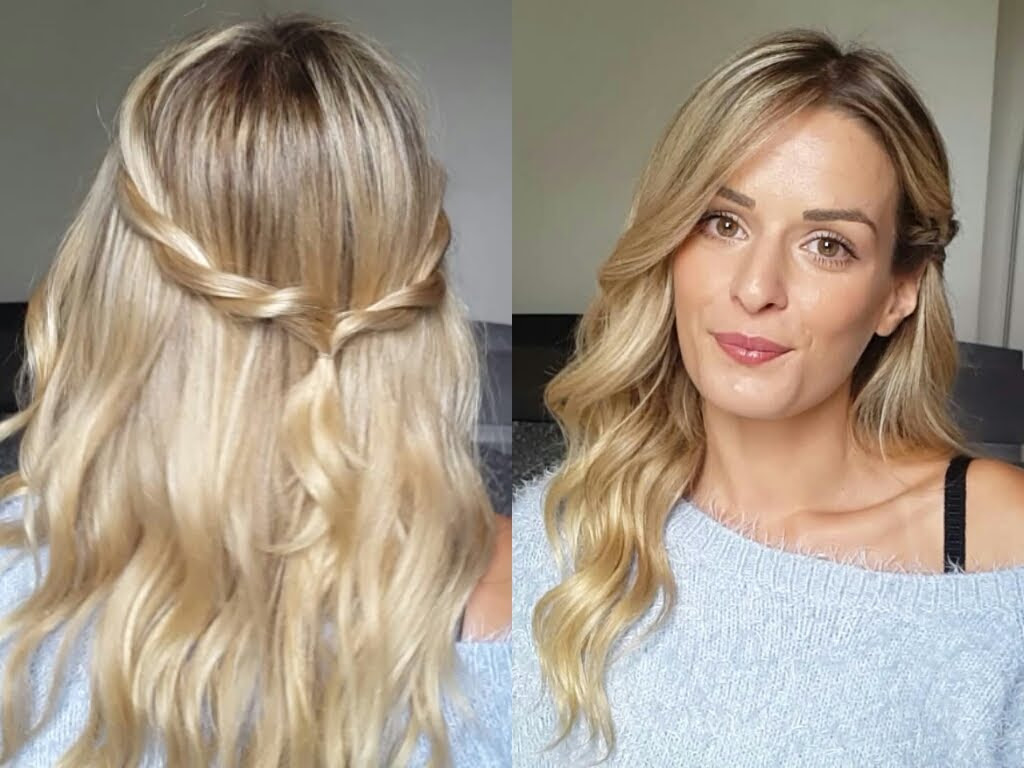 Coiffure Cheveux Mi Long Rapide Et Facile Coiffure Simple
