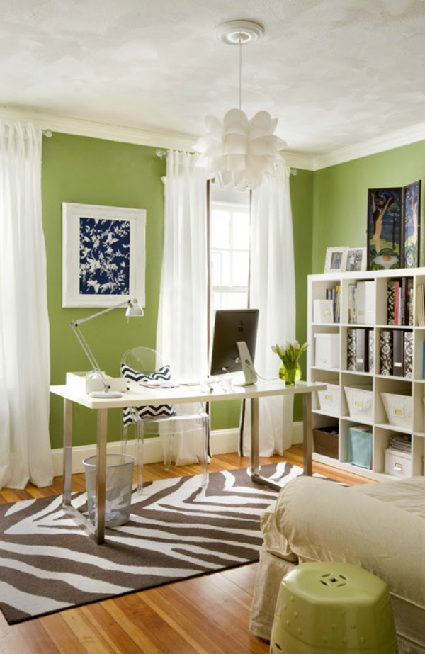 How to use colour in your home office to increase ...