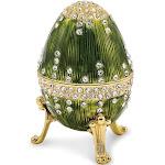 Bejeweled Regal Green Musical Egg - BJ2063