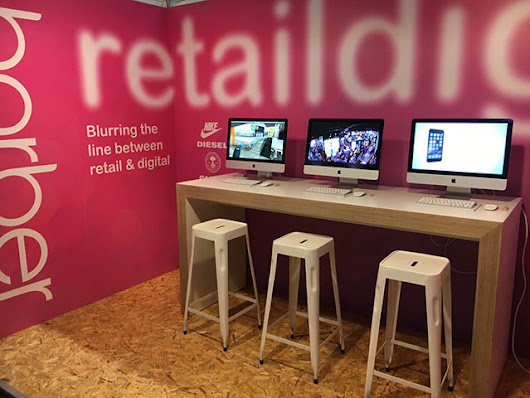 Barber at the visual merchandising and display show - plus current projects - Retail Design Blog