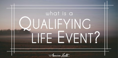New QLE (Qualifying Life Event) & Special Enrollment Period Info on my Site