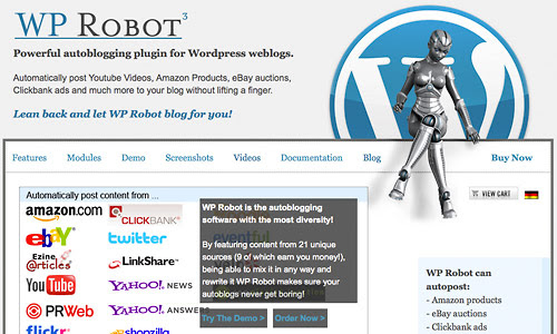 [GET] WP Robot 4.14 & 5 Nulled – The Best WordPress Autoblogging Plugin – Free Cracked Nulled Seo Softwares