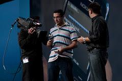 Osama Oransa and Richard Bair, JavaOne Keynote, JavaOne + Develop 2010 San Francisco