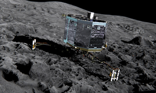 Rosetta mission: ESA attempts to land spacecraft on comet – live coverage | Science | The Guardian