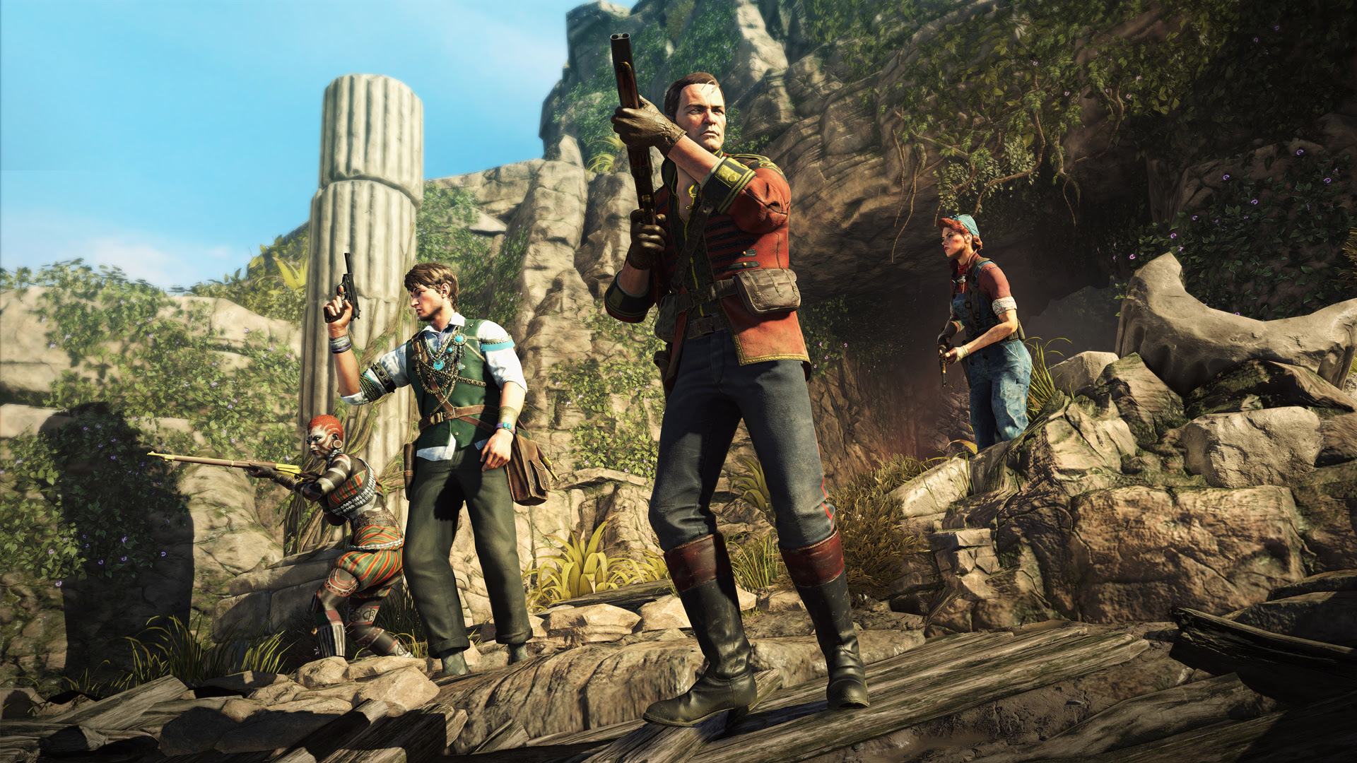 Rebellion reveals supernatural co-op shooter Strange Brigade screenshot