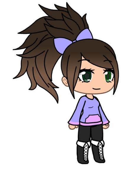 pin  abby  wolf  gacha life   anime outfits