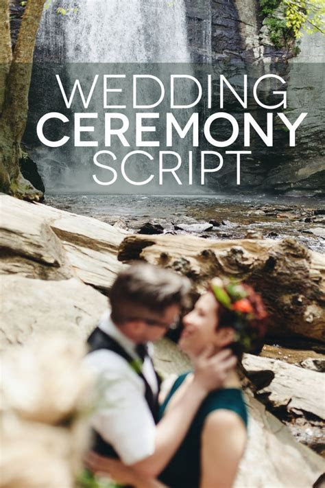Beautiful Wedding Ceremony Script Examples   How To Plan A