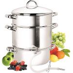 Cook N Home 11-Quart Stainless-Steel Juicer Steamer
