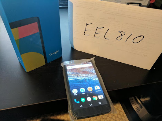 Nexus 5 (Unlocked) For Sale - $135 on Swappa (EEL810)