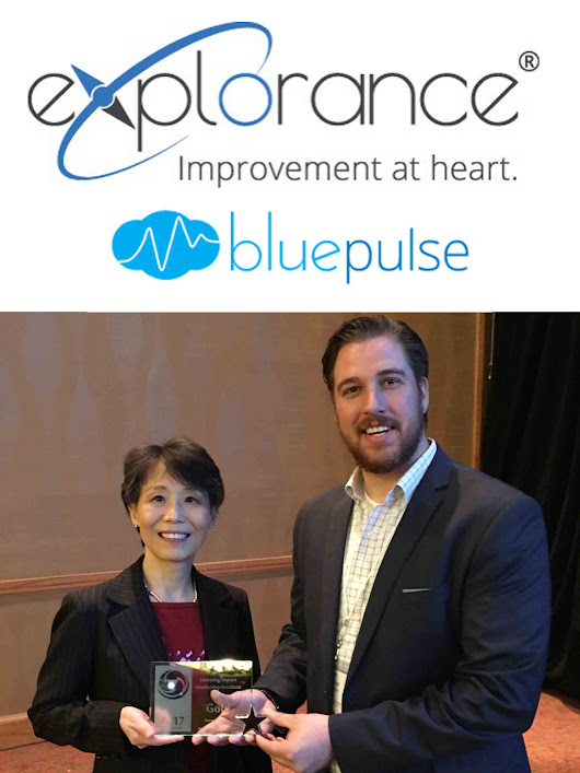 Bluepulse Receives IMS Global's Learning Impact Award