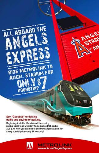 Metrolink Angels Express promotion