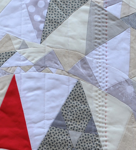 Fab Little Quilt Swap - from Janice (Sewgirly!) to me