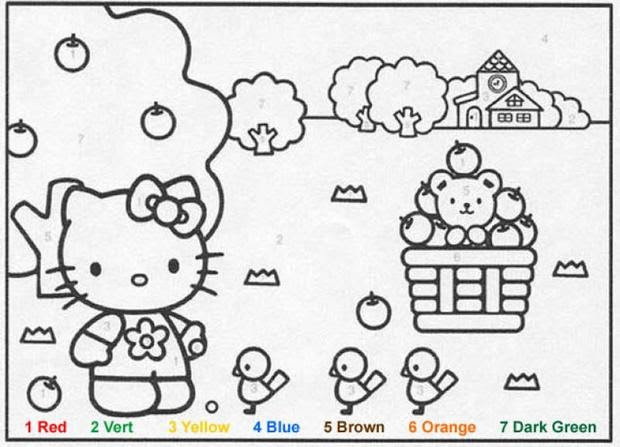 free printable coloring pages color by number 2015