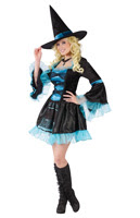 Sassy Victorian Witch Adult Costume