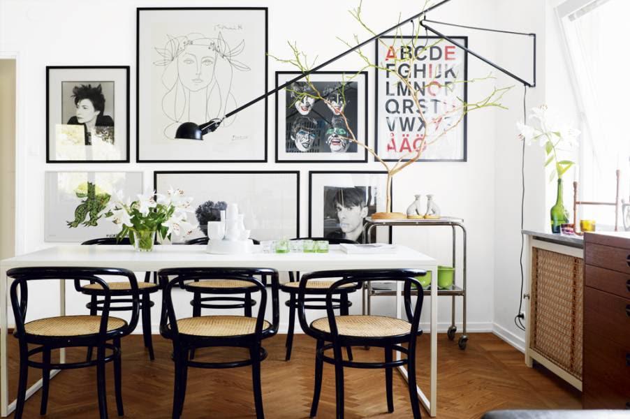 The City Sage Black White Wood Inspiration