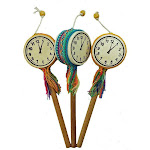 Jamtown World Instruments R0204-557032 Single Tic TOC Clock Drum