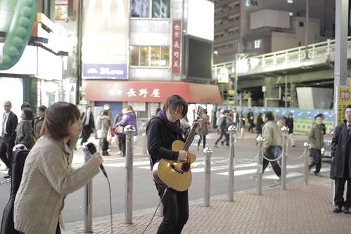 Junko Kamata performing (with guitarist/ producer Imagawa Shun) 3
