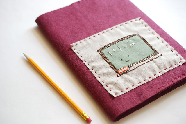 Felt Journal Cover