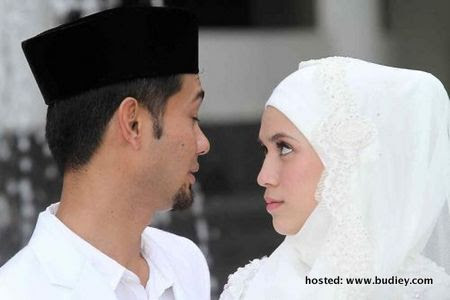 Gambar Majlis Akad Nikah Diana Danielle & Farid Kamil
