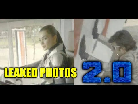 Superstar Rajinikanth's 2.0 Photos Leaked