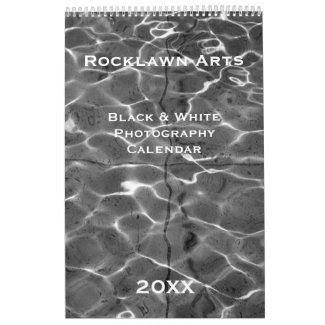 Custom Black & White Photography Calendar – Long