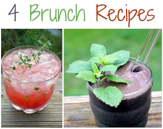 4 Brunch Recipes for Mother's Day or Graduation - Healthy Slow Cooking