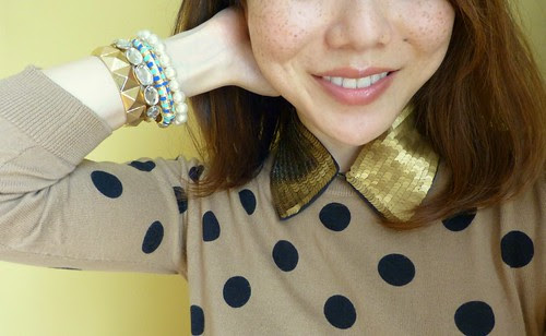 camel dots & blue
