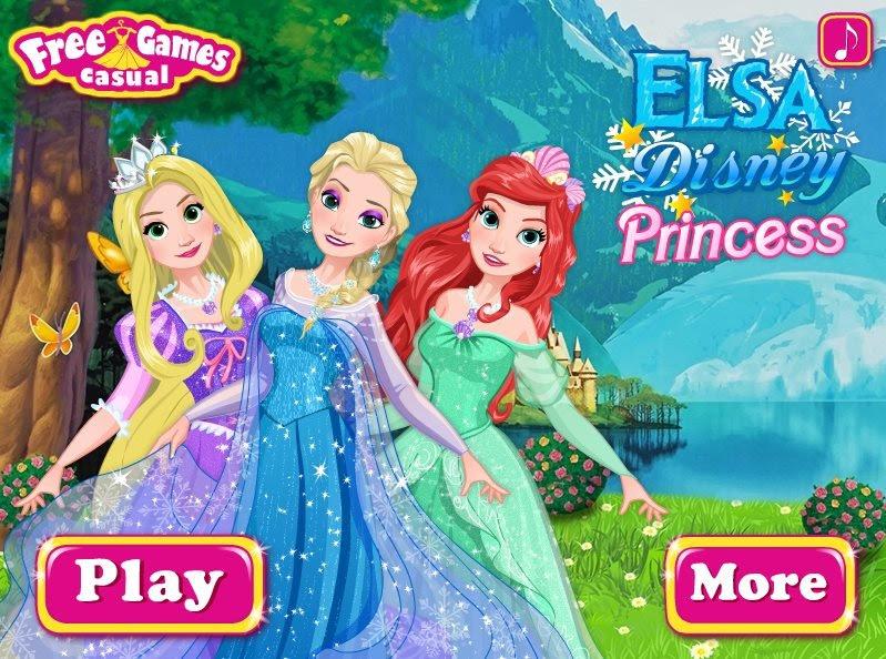 Elsa Disney Princess game