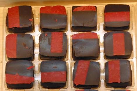 El chocolate negro contiene menos grasas.| Foto: Diego Sinova