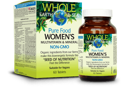 Women's Whole Food Supplements by Whole Earth & Sea| Whole Earth & Sea