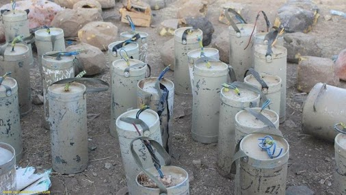 PICTURES: #Extraction of 3,000 mines planted by #Houthis in #Yemen's Saada  Hadramout21:Al Arabiya ...