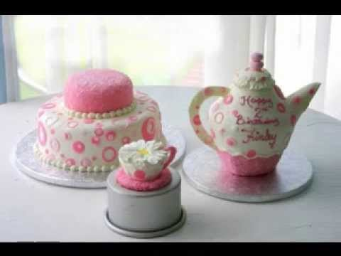 75+ Tea Party Birthday Cake Ideas