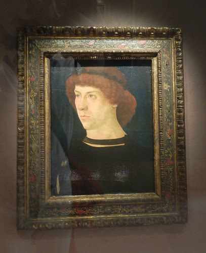 DSCN7674 _ Portrait of Joerg Fugger, 1474, Giovanni  Bellini (1430-1516), Norton Simon Museum, July 2013