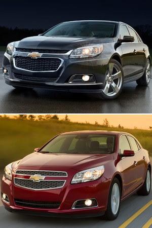 Chevrolet Malibu 2013 e 2014 (Foto: Divulgação)