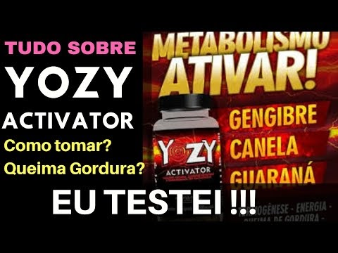 YOZY : Ótimo Queimador de Gordura de Baixa Cafeína